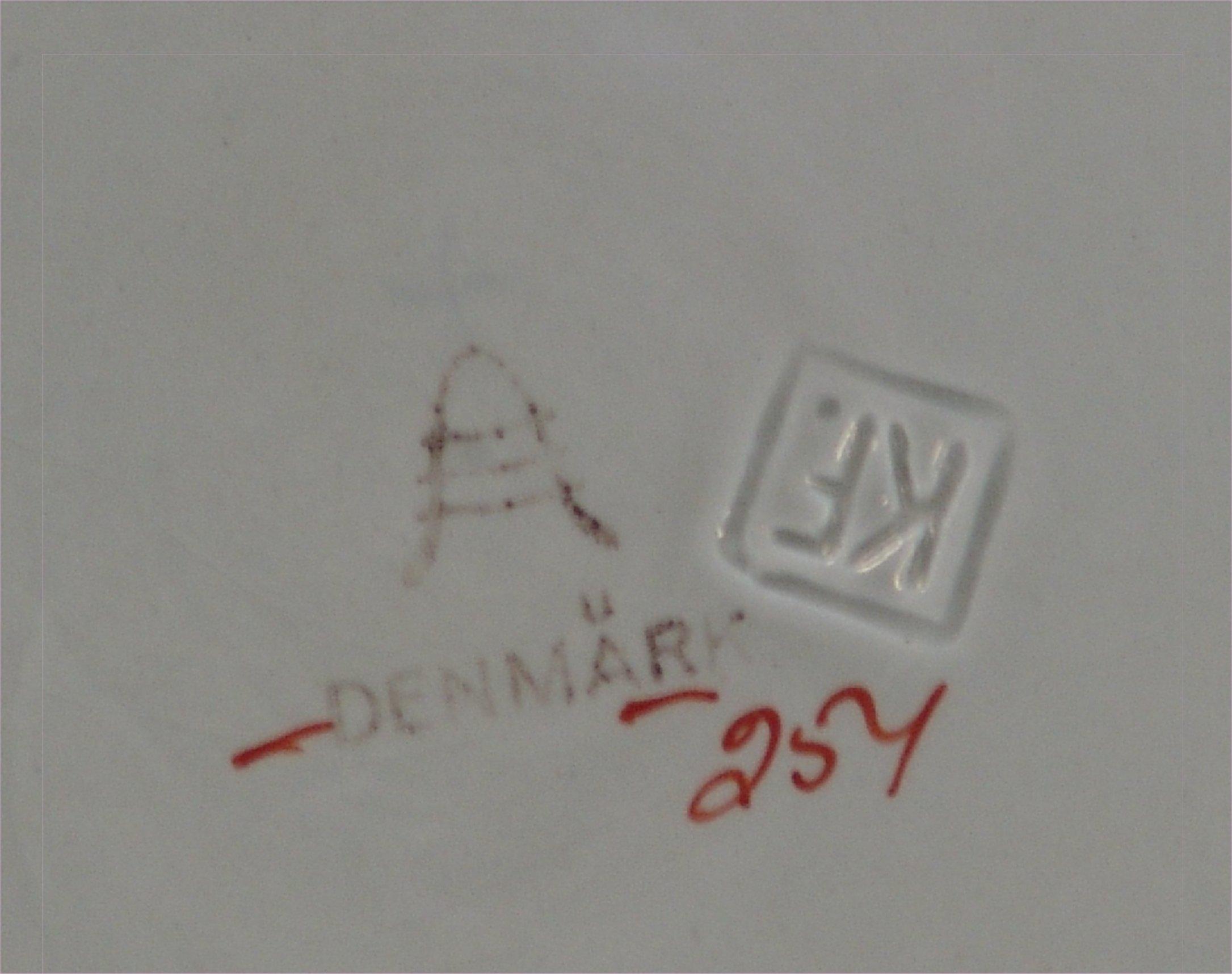 danske porcelænsmærker
